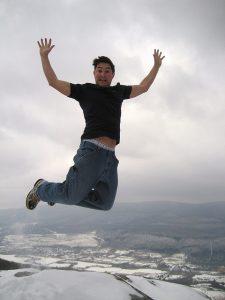 Sensación de salto