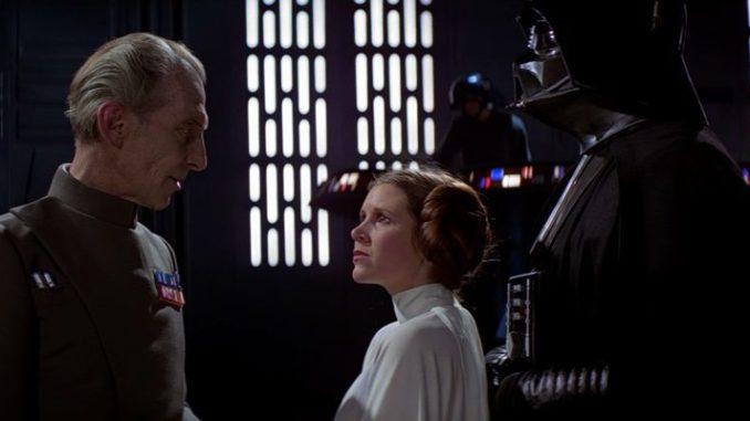ElGobernador Takin y la Princesa Leia