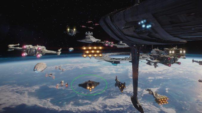 La nave Ghost que utiliza el grupo de rebeldes