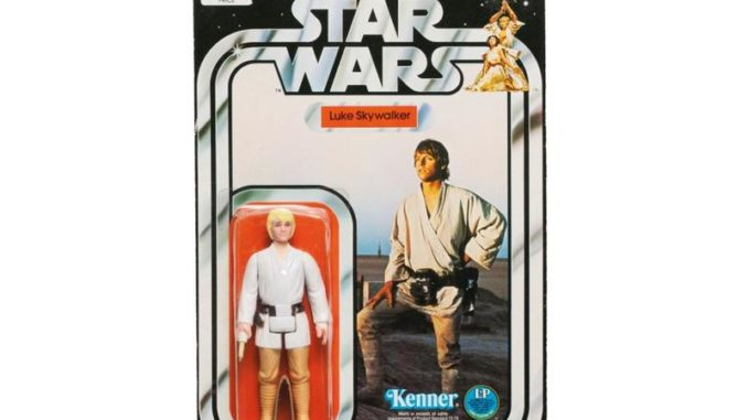 juguete antiguo luke skywalker