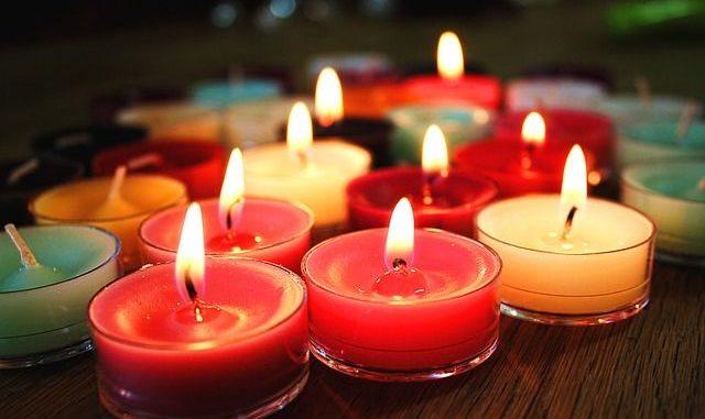 significado del color de las velas