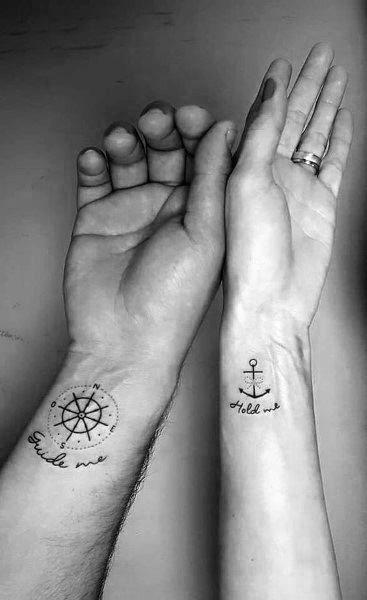 35 Tatuajes Originales Y Sorprendentes Para Parejas