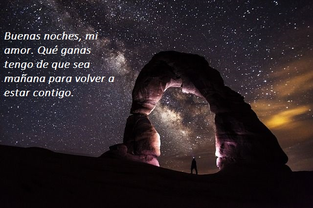 imagen romantica para desear buenas noches amor