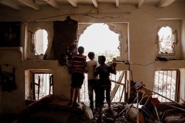 Yemen devastado