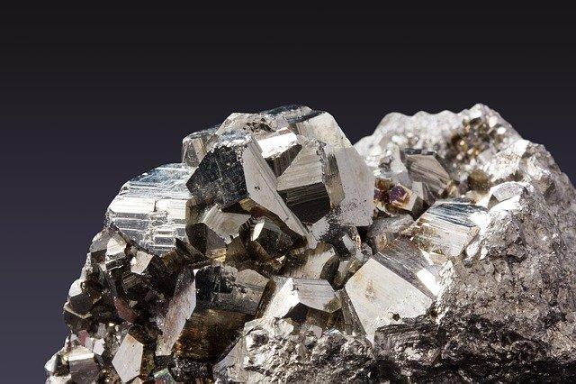 minerales en joyería