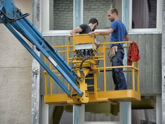 trabajos en fachadas