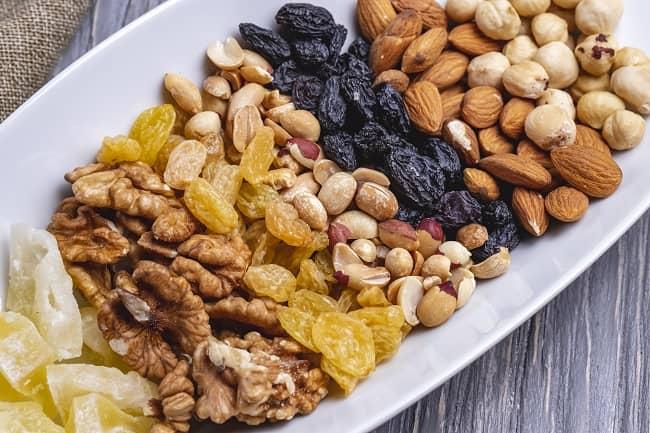 Frutos secos saludables
