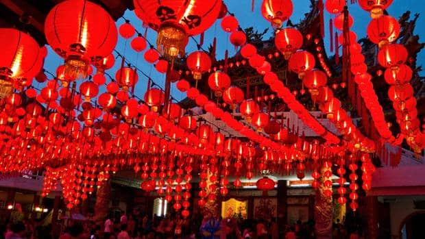 origen chino costumbre lenceria roja fin de año