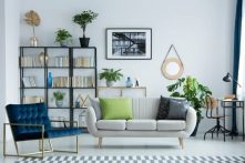 sofá para salon pequeño