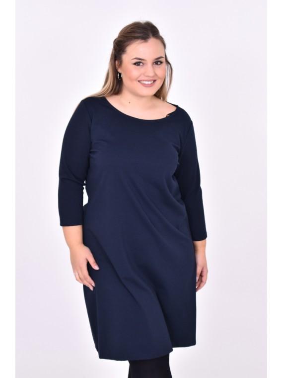 vestidos tallas grandes con mangas