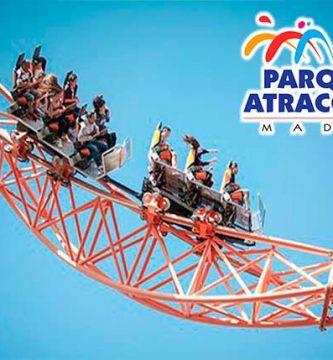 parque atracciones madrid
